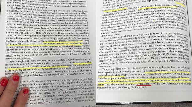 High School Textbook Describes Trump as Mentally Unstable