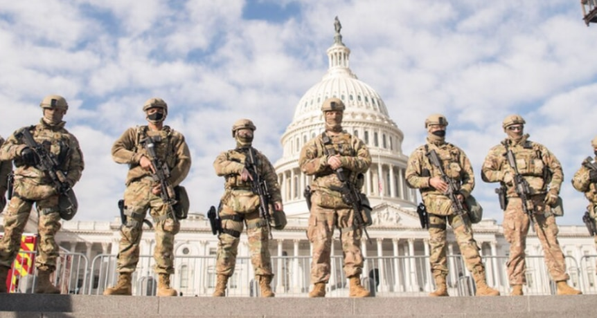 """FBI Vetting National Guard Troops Over Fears of """"Insider Attack"""" 