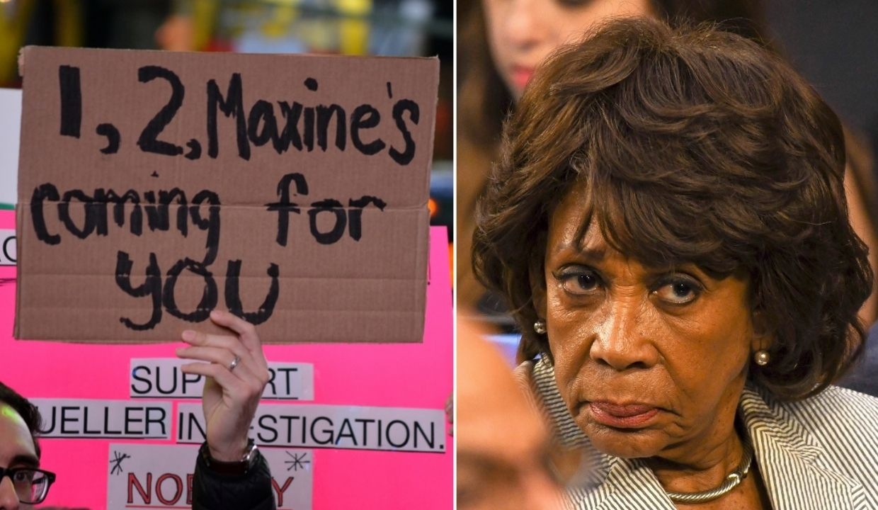 Maxine Waters Mad Shutterstock 1.